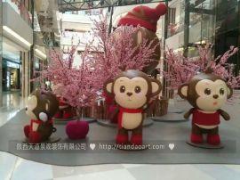 陕西商场开业,店庆,节庆美陈  泡沫雕塑