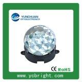 压铸铝底座钻石PC面罩圆形直径85mm七彩光6WLED点光源