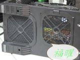 廠家直銷廣州市電腦機箱CPU散熱防塵塑膠衝孔網、最精美的PVC環保衝孔喇叭網