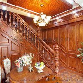 李沧区实木楼梯|青岛实木楼梯厂家|青岛天顺木业