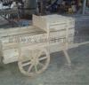 厂家直销专业定制木头车 民间工艺手拉木车布景道具商场美陈