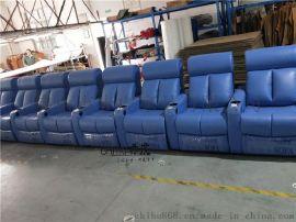 (赤虎)专业生产现代皮制影院沙发座椅 电动USB接口功能沙发 太空舱真皮沙发影院主题沙发