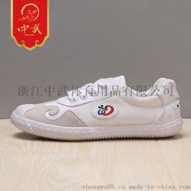 中武頭層皮習武鞋訓練鞋成人男廠家直銷