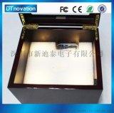 厂家生产各种首饰盒礼品盒发光发声机芯 打开可录音可播放音乐