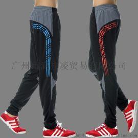 运动裤收腿裤足球训练长裤收小脚篮球跑步健