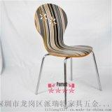 现代时尚餐椅板式椅面金属骨架价格优惠派瑞特家具五金厂长期供应