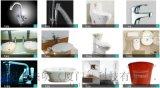 衛浴陶瓷鐳射打標機雕刻機