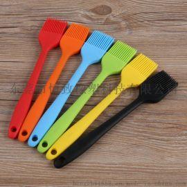 硅胶食品级一体式刷子硅胶包尼龙烧烤刷 厨房烘培工具