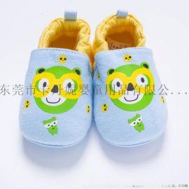 卡通1-2歲嬰兒學步鞋 春秋 家居早教寶寶鞋 廠家批發定做