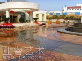 安徽压模地坪厂家|安徽压印路面技术|安徽压花地坪材料