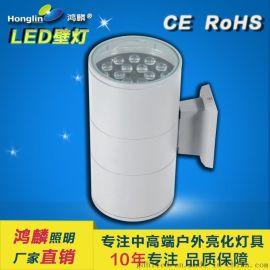 48w雙頭壁燈_led戶外壁燈_48w上下照壁燈