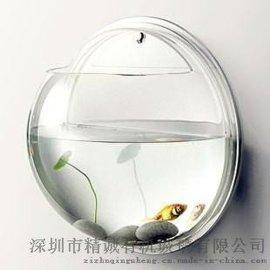 亚克力鱼缸,有机玻璃鱼缸,悬挂式鱼缸,壁挂式鱼缸