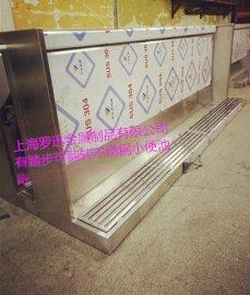 廠家供應車站衛生間專用不鏽鋼小便槽