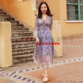 供应玫瑰丽人新款大码连衣裙,厂家批发一手货源