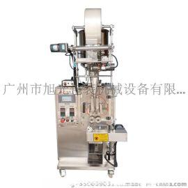 广州旭光全自动辣椒酱包装机,不堵料的包装机