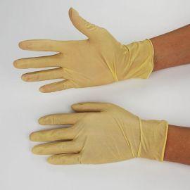 一次性乳胶手套 劳保丁晴实验室工业防护防污耐油 东莞厂家直销