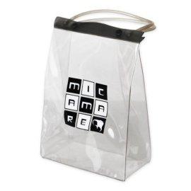 pvc透明手提袋新款卡通手提袋