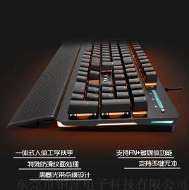 吃雞專用 機械青軸手感 電競遊戲鍵盤