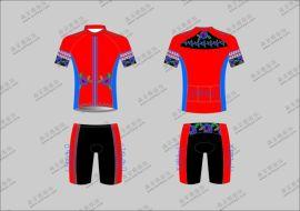 骑行服女短袖套装自行车服装骑行运动户外装备透气修身提臀