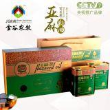 【金谷金牧】亞麻籽油500mlx2手提禮盒裝 物理冷榨 非轉基因食用油