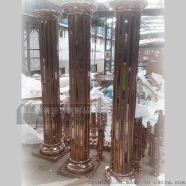 不鏽鋼立柱 歐式不鏽鋼羅馬包柱  質量穩定 美觀持久