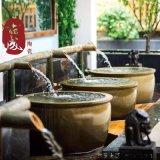 日式陶瓷泡澡缸 景德镇陶瓷浴缸 直径1.1米坐式陶瓷浴缸 厂家直销店