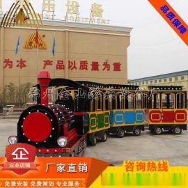 广场小火车图片丨无轨小火车价格丨旋转木马厂家丨新型游乐设备