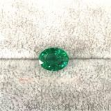 天然祖母绿戒面 椭圆形祖母绿 绿宝石