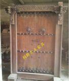 原生態實木門復古中式庭院門復古別墅大門進戶門