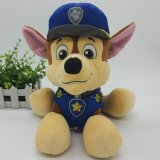 供应毛绒玩具 狗狗警察公仔卡通公仔 可爱抱枕来图打样