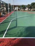郴州学校运动场地施工方案 嘉禾社区塑胶篮球场地面铺设流程