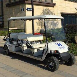 廠家直銷上海8座電動高爾夫球車,四輪樓盤看房接待車