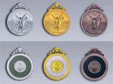 北京金屬獎牌制作價格體育馬拉鬆競賽獎牌訂做廠家