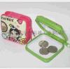 厂家直销卡通可爱型带拉链马口铁零钱包 礼品赠品包装盒