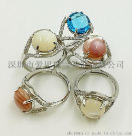 爱思JZ-005纯银戒指925银