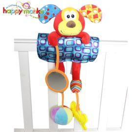 嬰幼兒毛絨玩具掛飾公仔嬰兒車掛件玩具牀吊飾