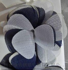 儷秀翎小雪紡燒片花飾HS001