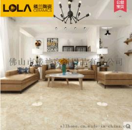 楼兰瓷砖大理石800*800客房厅地板砖仿石纹地砖