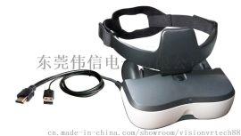 3D HDMI高清120吋大屏幕头戴显示器
