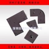 8840 80*80黑色尼龙端盖 密封件 铝型材配件 深圳福永厂家供应