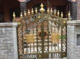 電動鑄鋁別墅花園大門 中式別墅門