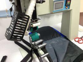 壓膠機、防水拉鏈壓膠機、電腦型壓膠機、熱風縫口密封機、防水拉鏈機T-5