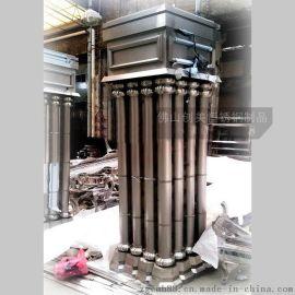 酒店大堂不鏽鋼立柱 歐式不鏽鋼羅馬包柱 耐氧化 耐腐蝕
