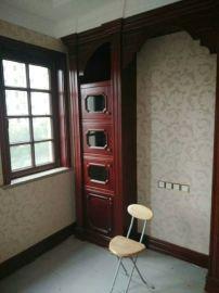 专业定制贝科利尔隔音耐用80系列铝包木门窗