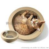 定制宠物玩具猫抓板 碗型 猫咪玩具 瓦楞纸猫抓板 送猫薄荷
