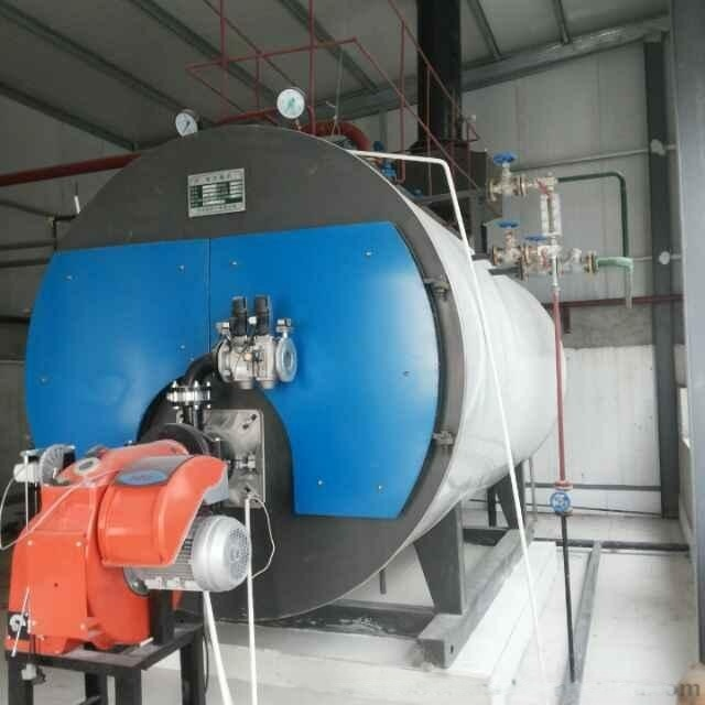 菏泽锅炉厂牌4吨燃气热水锅炉