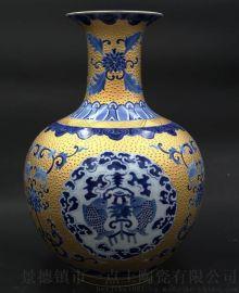 景德镇餐具厂家 景德镇手绘花瓶 景德镇陶瓷礼品