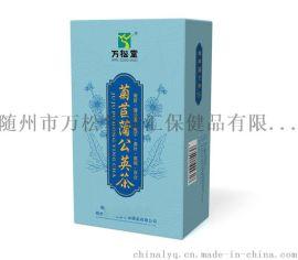 菊苣降酸茶生產廠家痛風喝菊苣蒲公英根梔子茶排酸