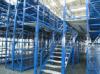 阁楼货架|配套液压升降平台作业