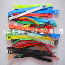 訂制塑料行李帶 各種顏色吊帶 現模生產 保證品質